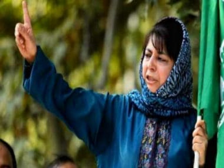 Mehbooba Mufti slams Centre for 'criminalising dissent', says J&K parties are 'everybody's favourite whipping boy'