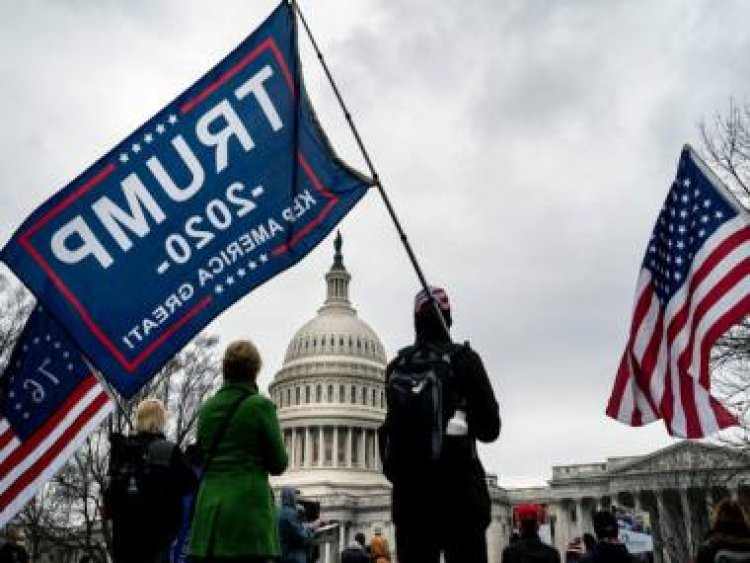 Washington braces for violence as thousands of Donald Trump supporters flock to nation's capital