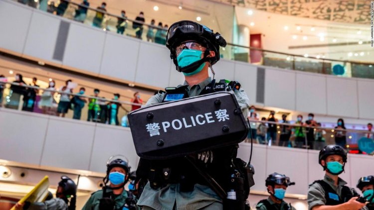 Dozens of Hong Kong opposition figures reportedly arrested under national security law
