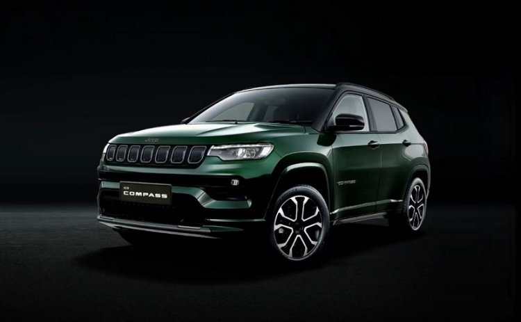2021 Jeep Compass Facelift Unveiled In India - carandbike