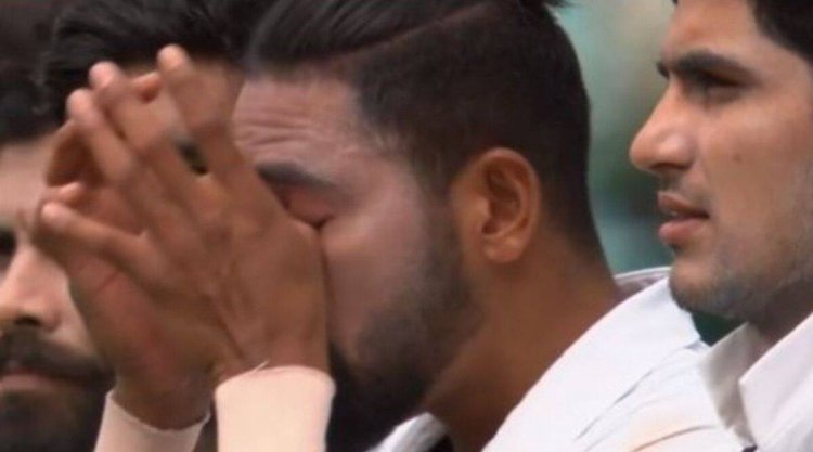 Mohammed Siraj gets emotional during national anthem at Sydney Cricket Ground - The Indian Express