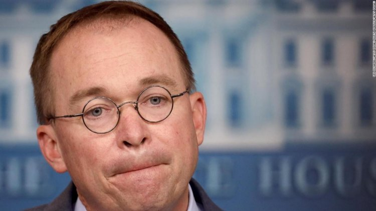 Mick Mulvaney resigns from Trump administration
