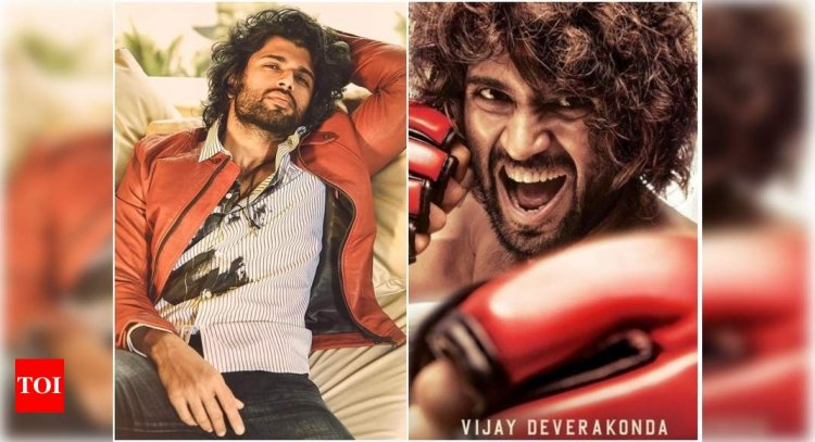 Vijay Deverakonda's 'Liger' fierce look leaves fans excited; actor says 'Your love has reached me' - Times of India