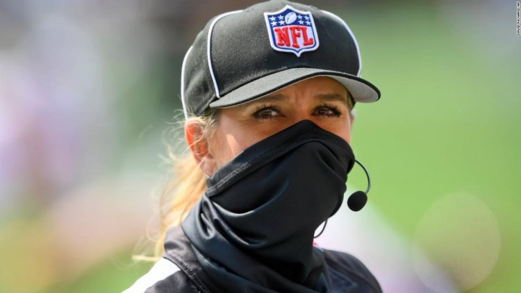 For the first time in NFL history, a woman will officiate at the Super Bowl