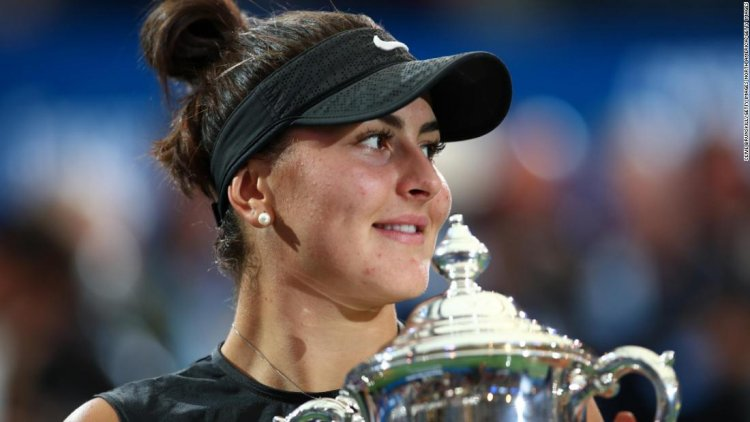 Time Out: Bianca Andreescu aims to be tennis' GOAT
