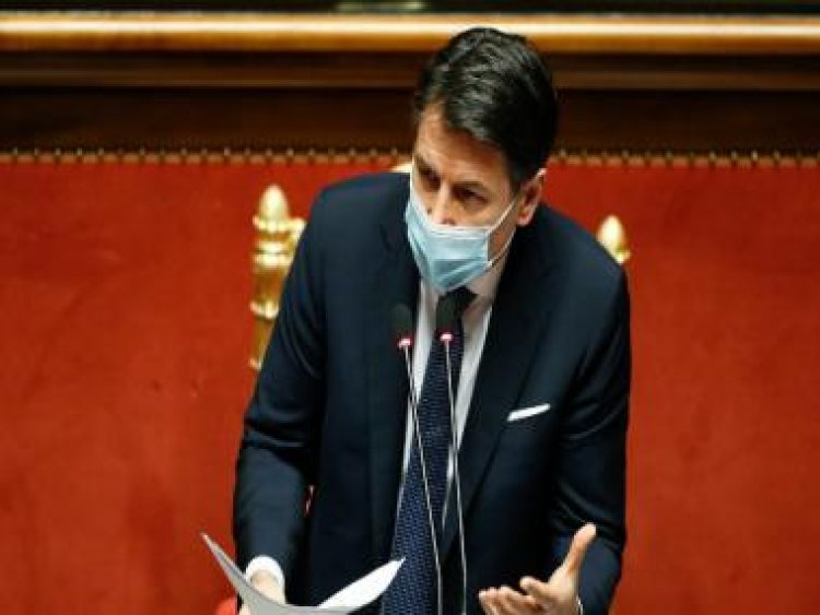 Italian PM Giuseppe Conte wins Senate vote with thin margin, says dealing with 'health emergency' will be priority