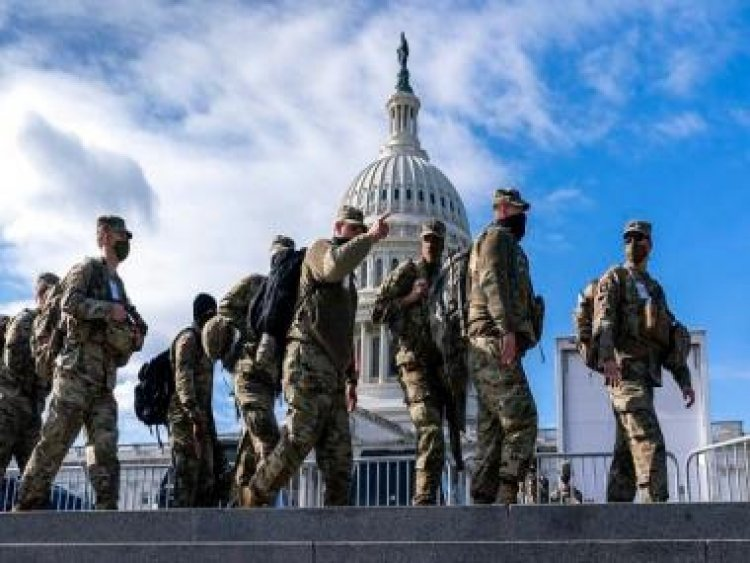 FBI vetting National Guard troops in DC for Joe Biden's 20 Jan inauguration amid fears of insider attack