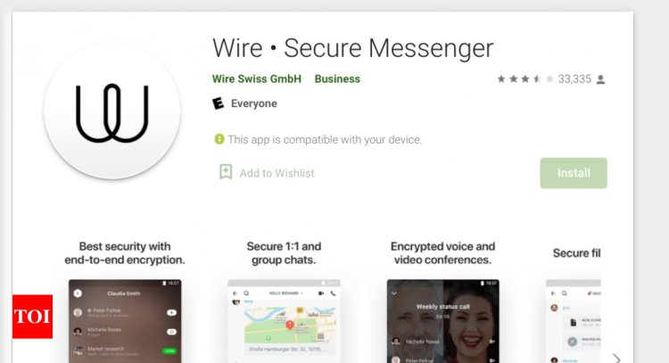 Wire is another WhatsApp alternative you can chat on even without a phone number: All details