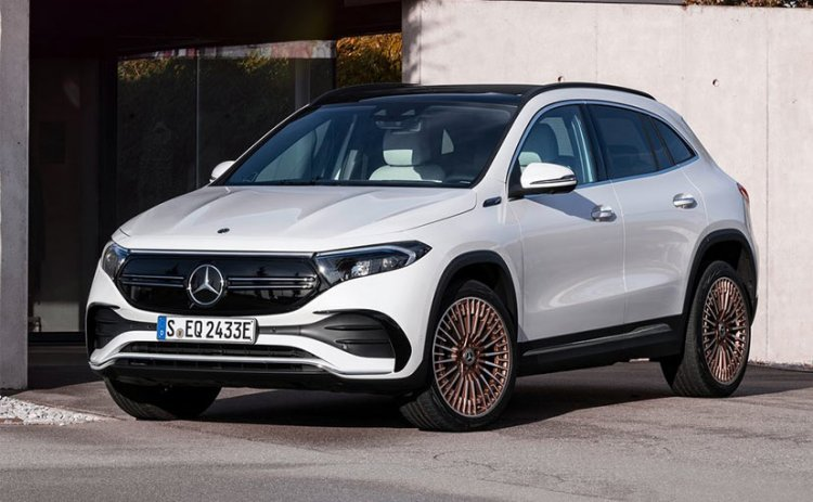 Mercedes-Benz EQA Electric Crossover Unveiled