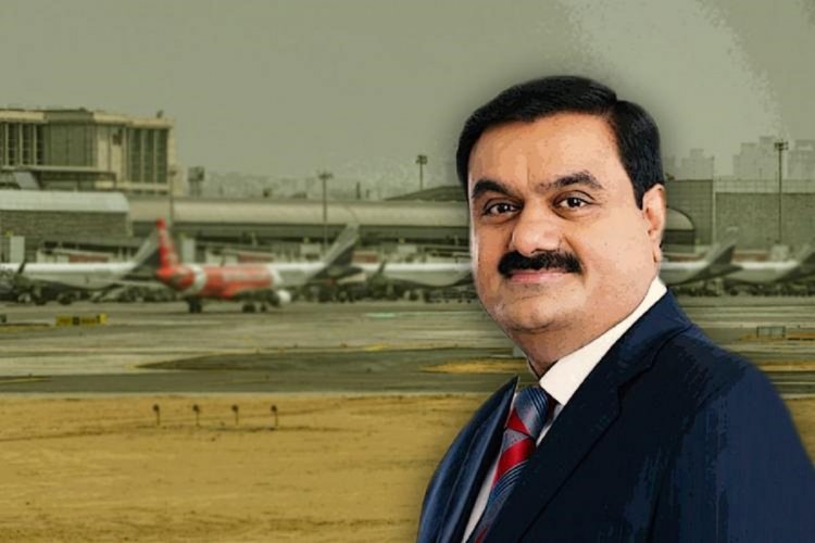 Employees protest against Adani take over of Trivandrum Airport - The News Minute