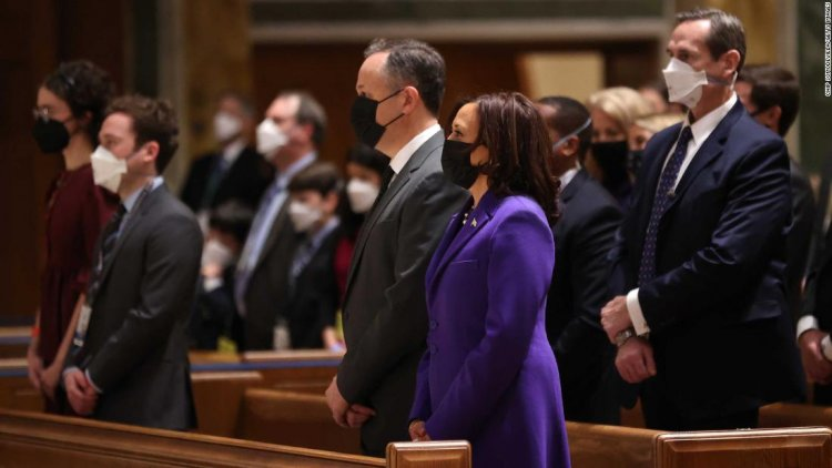 Why Kamala Harris, Michelle Obama and Hillary Clinton wore purple at the inauguration