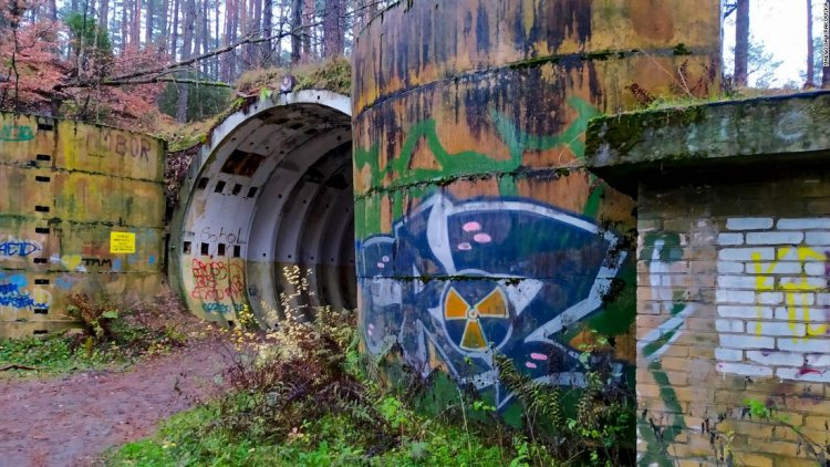 The abandoned Soviet nuclear missile base hidden in a Polish forest