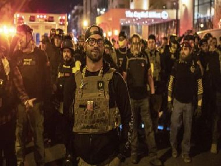 Proud Boys now turn on 'extraordinarily weak' Donald Trump, brand him a 'total failure'