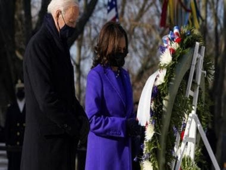 Joe Biden Inauguration Updates: President, vice-president lay wreath at Tomb of the Unknown Soldier