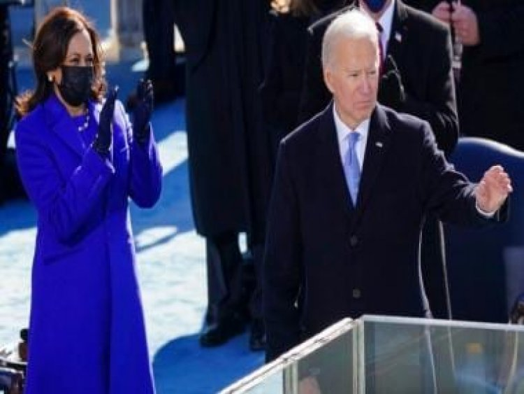 Joe Biden takes helm with promise of 'uniting' a divided America; Kamala Harris scripts history