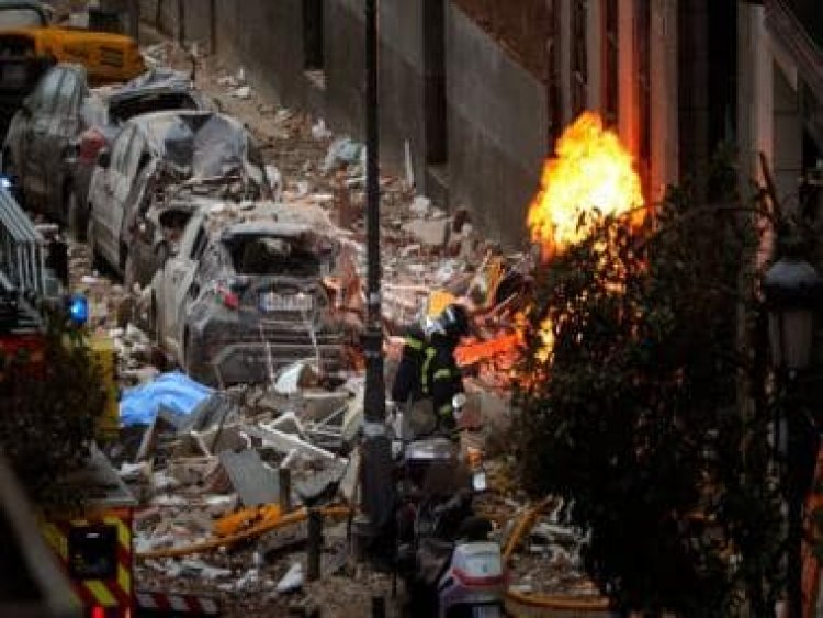 Two killed after loud explosion rocks central Madrid; initial assessment indicates gas leak, says mayor