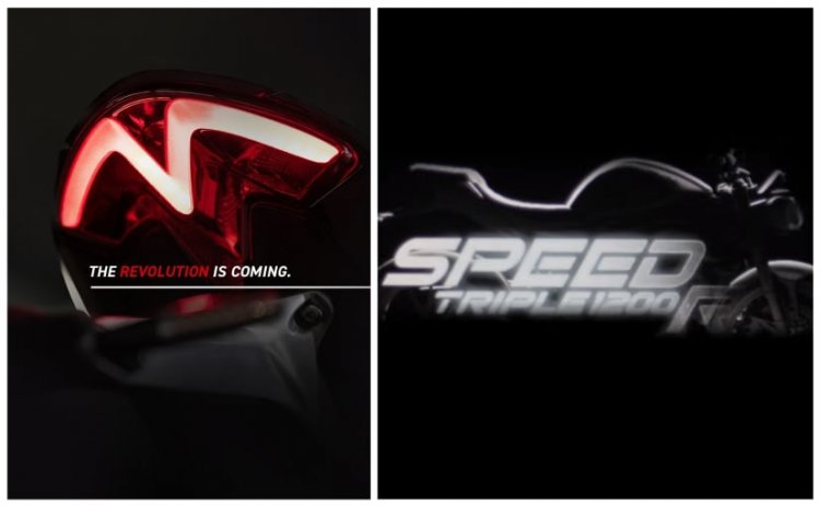 2021 Triumph Speed Triple 1200 RS India Launch Date Revealed
