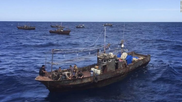 North Korea's 'dark' fishing fleet went quiet in 2020, likely pressuring the country's imperiled food supply