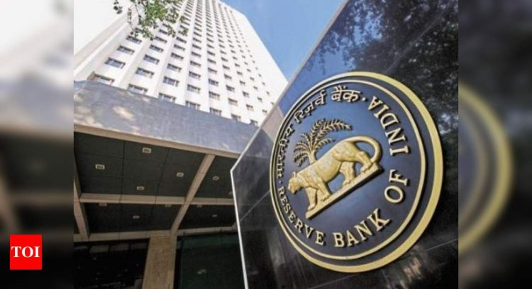 RBI sees V-shaped recovery, likely room for policy easing - Times of India