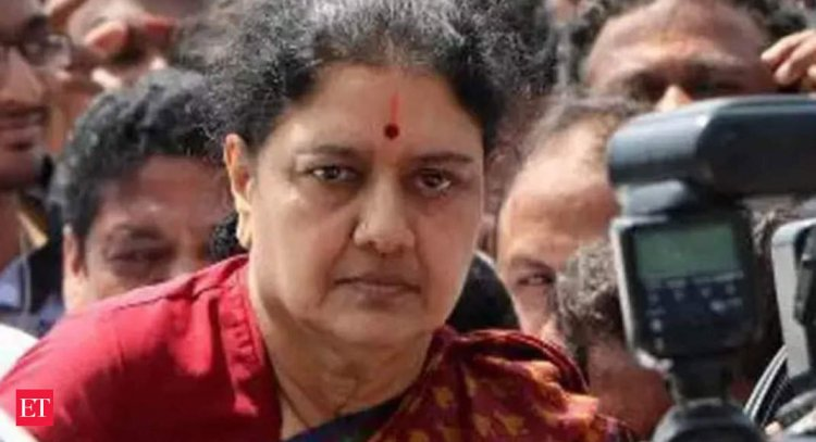 Expelled AIADMK leader Sasikala tests positive for COVID-19; stable: Hospital - Economic Times