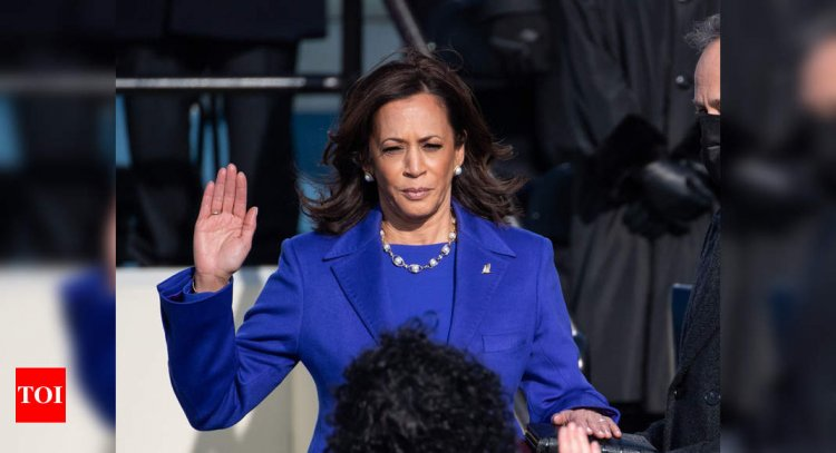 Kamala Harris becomes the new power centre in Washington - Times of India