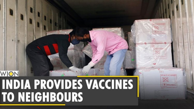 WION Dispatch: India gifts COVID-19 vaccine doses to its neighbours | COVID-19 News | WION News - WION