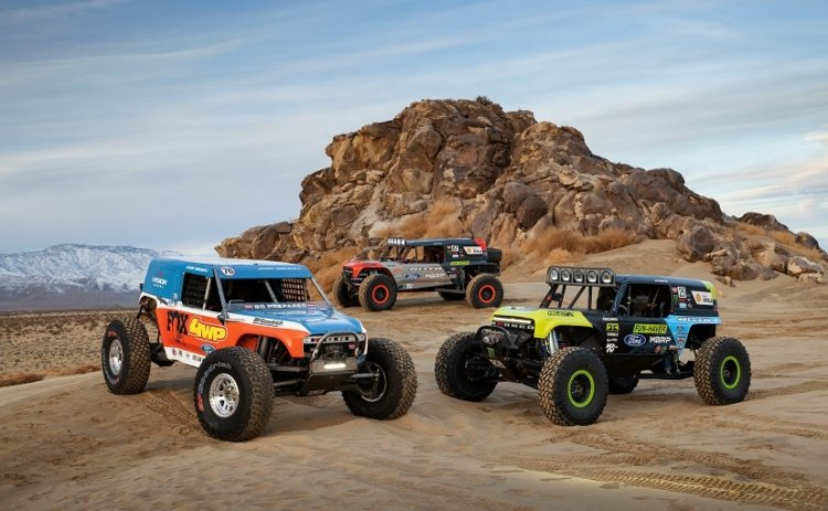 Ford Reveals Bronco Ultra4 4400 Unlimited Class Extreme Race Vehicles