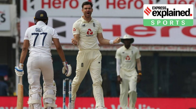 Sultan of reverse swing: How James Anderson bends the ball after pitching - The Indian Express