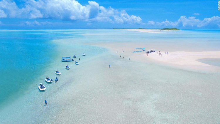 The paradise islands frozen in time