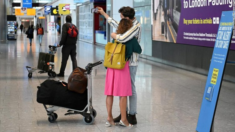 UK warns all vacations could be canceled for 2021