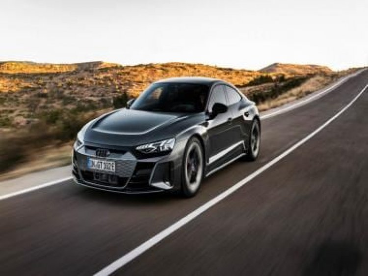 All-electric Audi e-tron GT makes world premiere; has a range of up to 487km