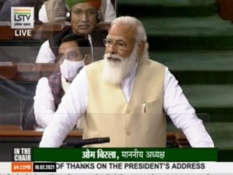 Narendra Modi's address in Lok Sabha: 'Andolanjeevis' polluting pure motives of protesting farmers, says PM