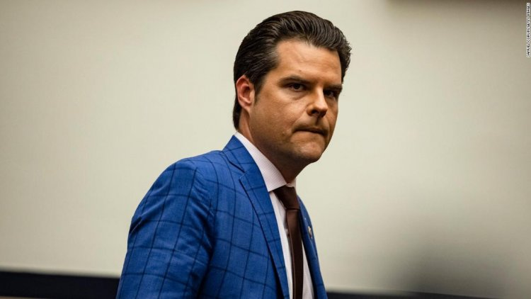 Republicans largely silent amid Justice Department probe into Gaetz