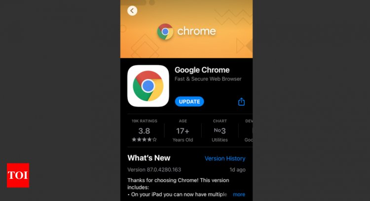 Google updates Chrome iPhone app; finally reveals what data it collects from you