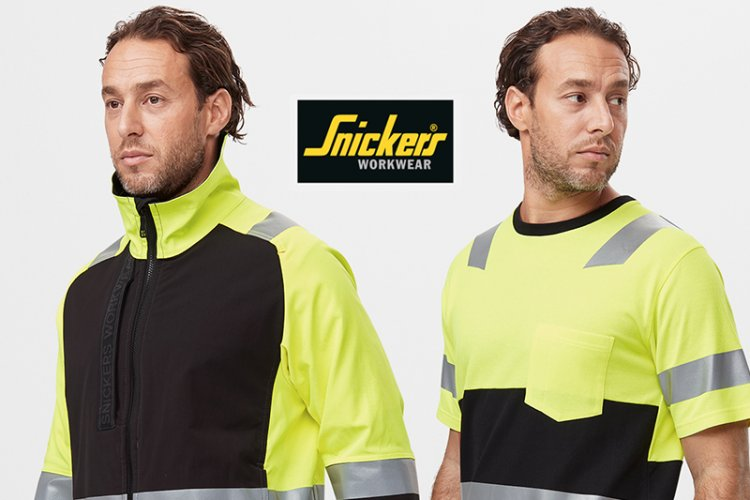 Snickers Workwear Hi-Vis offers enhanced visibility and safety