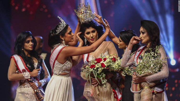 Pageant controversy erupts after former title holder snatches winner's crown