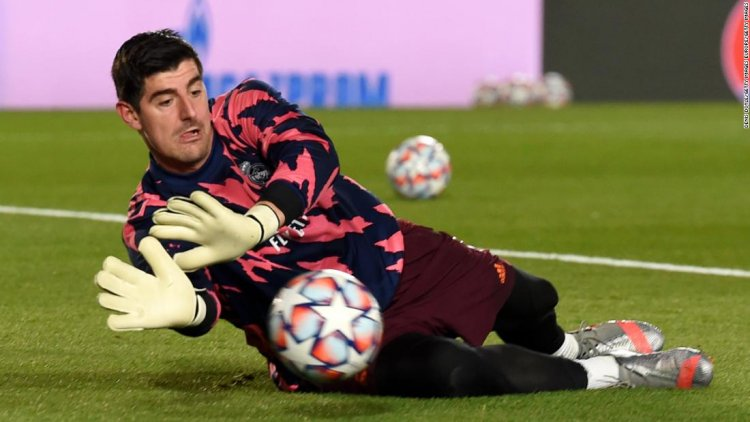 """Thibaut Courtois rediscovers his """"happy place"""" in Madrid"""