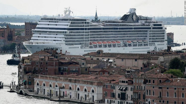 Venice bans cruise ships from the city center -- again