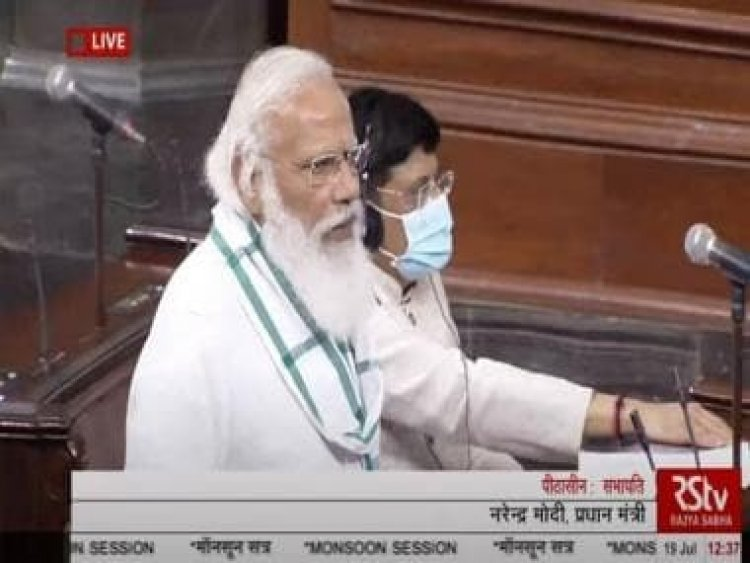 Opposition disrupts Day 1 of Parliament's Monsoon Session as PM introduces newly inducted ministers
