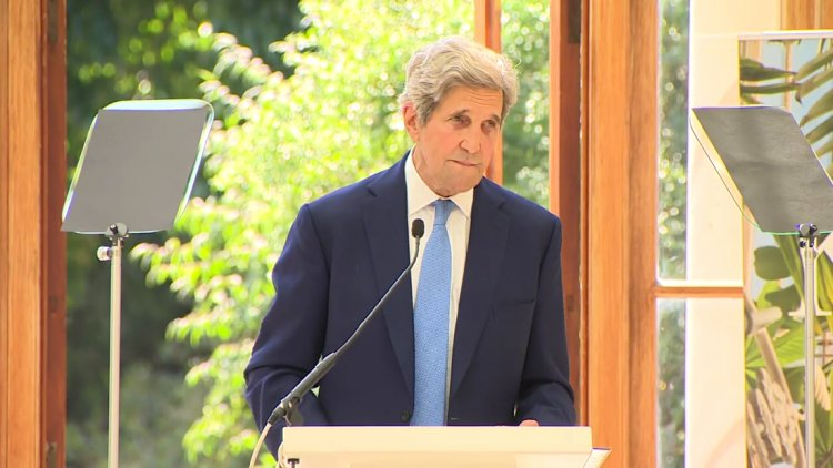 John Kerry has a stark warning about climate crisis