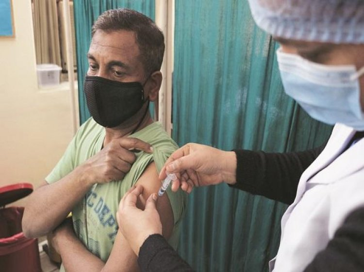 Govt prioritising vaccinating eligible people in UP, Punjab: Report