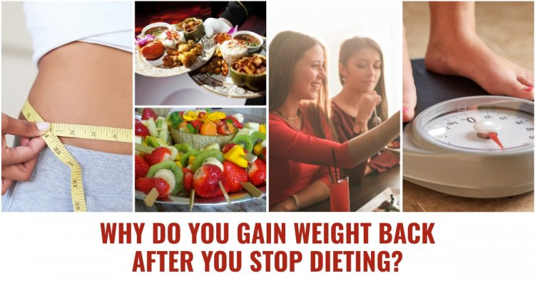 5 Reasons you Can Gain Weight Back After you Stop Dieting