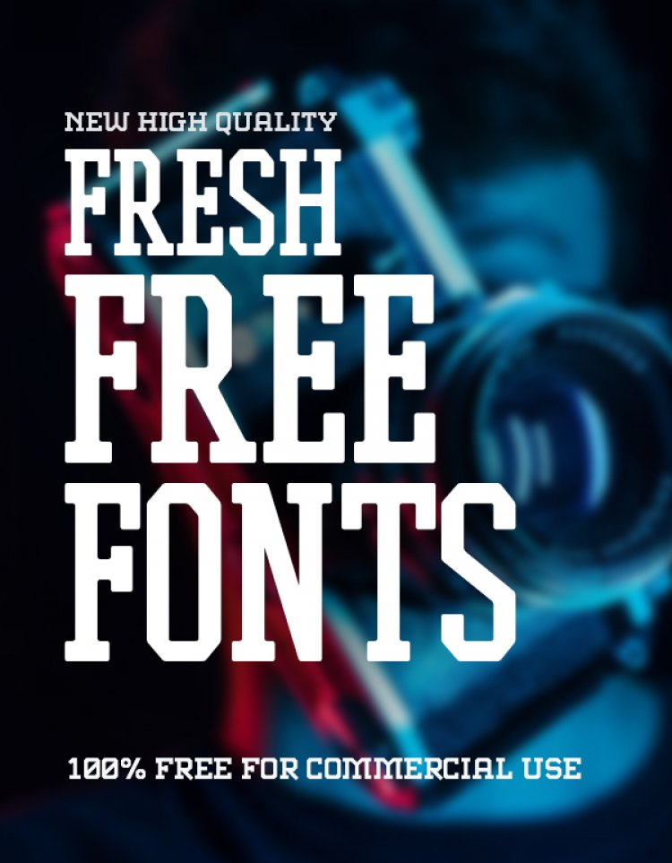 19 New Fresh Free Fonts For Graphic Designers