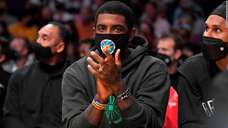 Kyrie Irving 'will not play or practice' with the Brooklyn Nets due to vaccination status