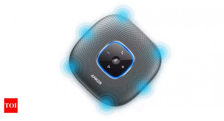 AnkerWorks PowerConf 3W portable wireless Bluetooth speakerphone launched, priced at Rs 8,999