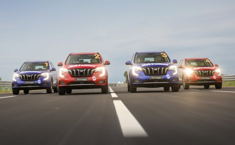 Mahindra XUV700 Sets New National 24 Hours Endurance Record By Clocking Over 4000 Km