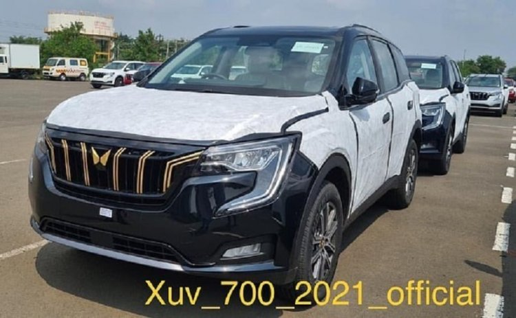Mahindra XUV700 Javelin Edition Models For Gold Medallists Neeraj Chopra And Sumit Antil Spotted