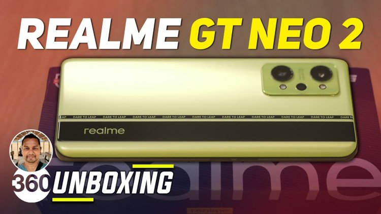 Realme GT Neo 2 Unboxing & First Impressions - Built For Gamers - Gadgets 360